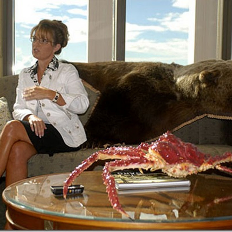 Hot or Not? Sarah Palin's Alaskan Office Décor