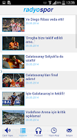 Screenshot of Radyo Spor