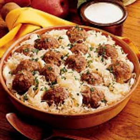 sauerkraut sausage and sauerkraut fritter recipes dishmaps sausage ...