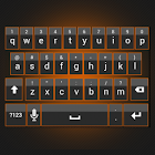 Sleek Orange Keyboard Skin icon