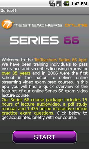 NASAA Series 66 Exam Course