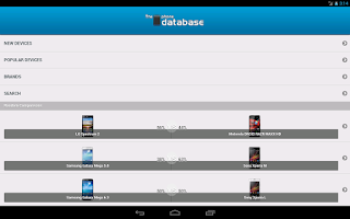 Screenshot of The Phone Database