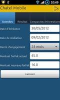 Screenshot of Chatel Mobile