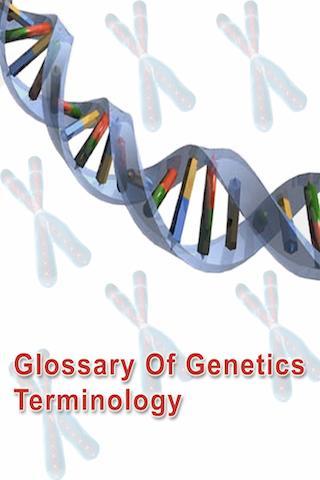 Genetics Glossary