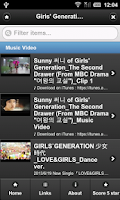 Screenshot of Girls' Generation MV
