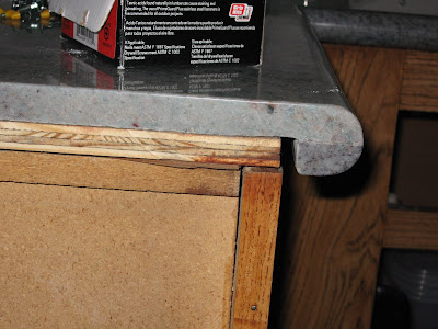 Countertop Underlayment : The granite (technically its a quartzite) is Arcobaleno.