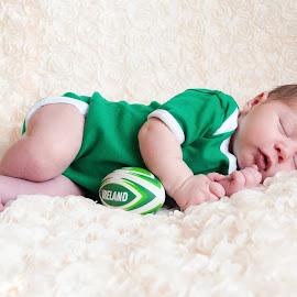 Irish babe by Zoe Preston Rayne - Babies & Children Babies ( newborn photography, newborn shoot, baby girl, baby, newborn )