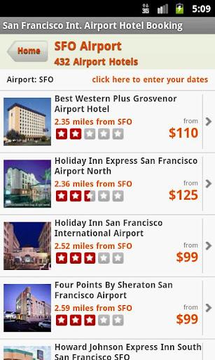 San Francisco Airport Hotels