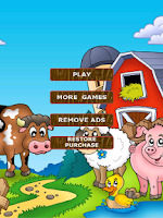 Screenshot of 2048 Kids - Barnyard