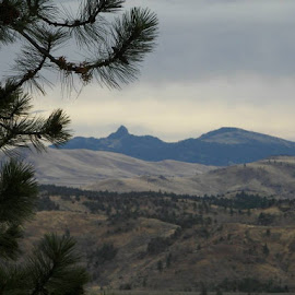 Castle Rock from Bridge Creek Road by Sara Laurance - Novices Only Landscapes (  )