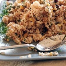 Rice Pilaf with Currants and Pine Nuts