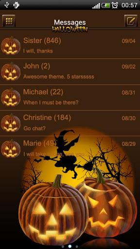 Halloween 2 theme GO SMS Pro