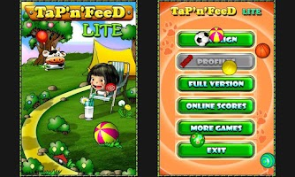 Screenshot of Tap'n'Feed Lite