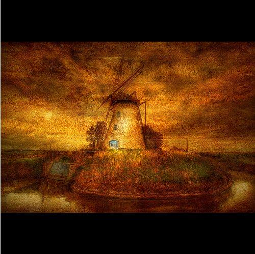 Le moulin... par Dimitri Depaepe