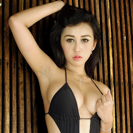 DPics Angel (JP) by Tomi Aribowo - Nudes & Boudoir Boudoir ( angel, sexy, model, monokini, hs30exr, fujifilm, finepix )