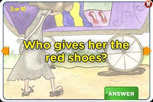 Screenshot of The Red Shoes StoryChimes