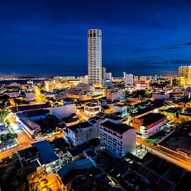 George Town, Penang by Nikko Tan - City,  Street & Park  Skylines