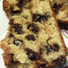 Chocolate Chip-Peanut Butter Bread