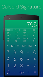 Calcoid™ Plus Sic Calculator - screenshot
