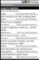 Screenshot of Lowyat Koptiam Reader - BETA