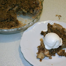 Anme's Apple Crumb Pie