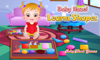 Screenshot of Baby Hazel Learns Shapes