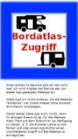 Screenshot of Bordatlas-Zugriff