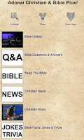 Screenshot of Adonai Christian & Bible Plus!