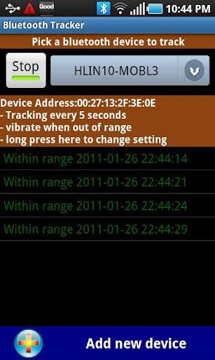 【免費工具App】Bluetooth Tracker-APP點子