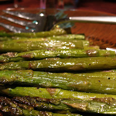 Garlic Zing Roasted Asparagus
