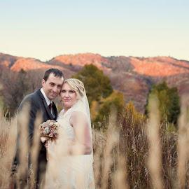 by Melissa Papaj - Wedding Bride & Groom ( married, wedding, bride, groom, romance )