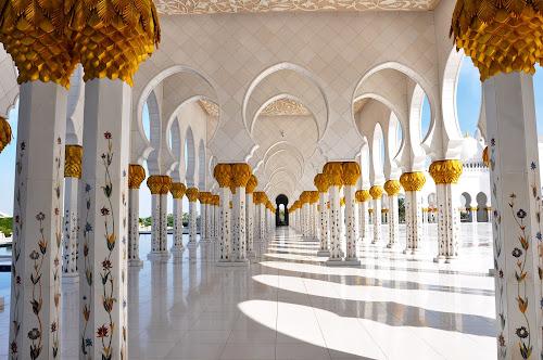 Beauty by Nazir Gohar - Buildings & Architecture Architectural Detail ( archieture, art, abu dhabi, nikon, photoshop, , building, interior, worship )