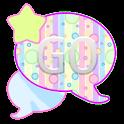 GO SMS THEME/PastelPolkaDots icon