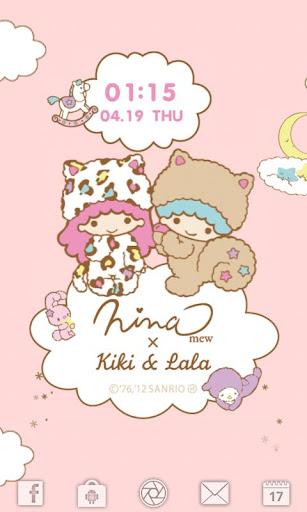 Ninamew × Kiki Lala ライブ壁紙