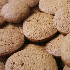 Swedish Orange Gingersnaps