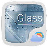 Glass Weather Widget Theme