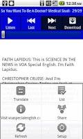 Screenshot of ESL Daily English - VOA