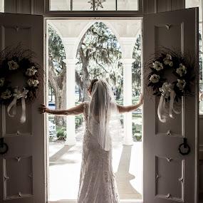 beauty by John Wollwerth - Wedding Bride ( wedding, bride )