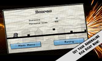 Screenshot of Line Runner