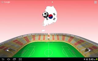 Screenshot of Korea Football Wallpaper