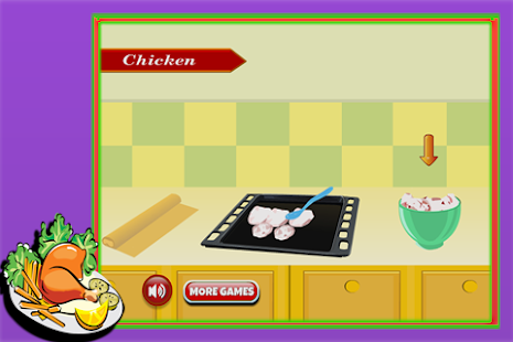 Cooking Game : Fried Chicken - screenshot
