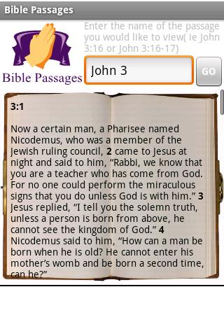 Bible Passages