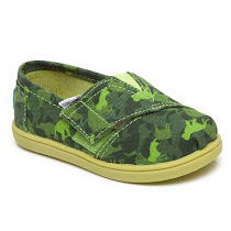 Toms Animal Camouflage Slip On CANVAS