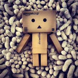 Chillin' by Ryan Kim  - Artistic Objects Toys ( danbo )