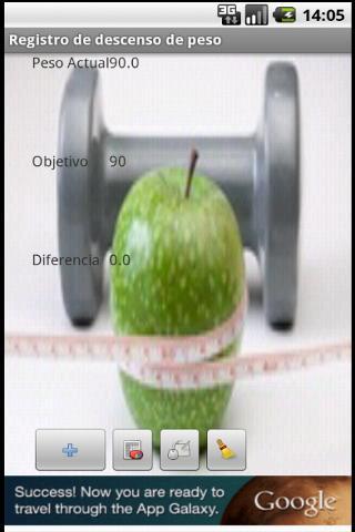 Registro de peso