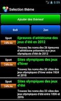 Screenshot of Qizzle pack Jeux Olympiques