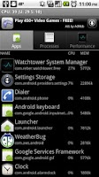 Screenshot of Watchtower System Manager