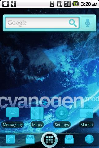 CyanogenMod ADW Theme
