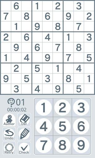 Sudoku by Nikoli Medium 10