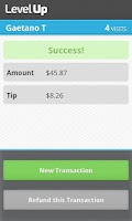 Screenshot of LevelUp Merchant